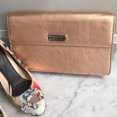 Marc Jacobs Rose Gold Clutch Perfect night out clutch Marc by Marc Jacobs Bags Clutches & Wristlets