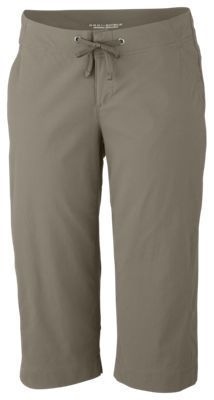 Columbia Anytime Outdoor Capris for Ladies - Tusk - 10