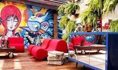ambiente painel graffiti - Google Search