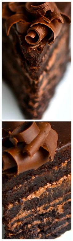 Fudge Mountain Cake Recipe