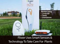 Fliwer Uses Smart Sensors and Technology To Take Care For Plants