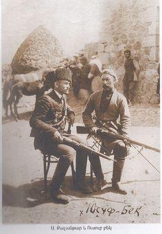 Two Kurdish Ezidi men from Red Kurdistan