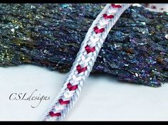Multi colour hearts kumihimo braid ⎮ Valentine's Day – kumihimo Kumihimo Bracelet, Bracelets, Viking Knit, Bijoux Diy, Jewelry Making Tutorials, Heart Patterns, Jewelry Crafts, Wire Jewelry, Handmade Jewelry