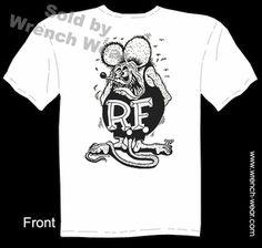 Ratfink T Shirts Big Daddy Clothing Company Tee Ed Roth Shirt
