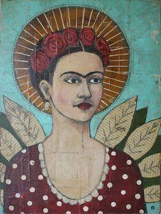 Saint Frida - 2012 by Jane Spakowsky
