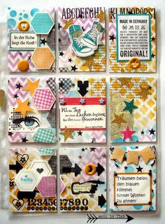 My Pocket Letters - Mixed Media Pocket Letter -  http://arts-by-tini.blogspot.de/p/pocket-letters.html