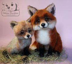 Tatiana Barakova - Felted wool fox