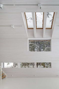 This unassuming family home in Finland is designed by OOPEAA, or Office for Peripheral Architecture. OOPEAA strives for an architecture that finds i.