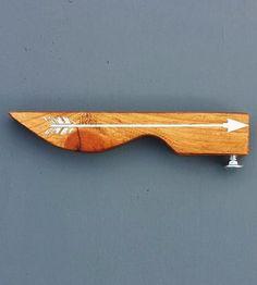 Arrow Handheld Wood Bottle Opener