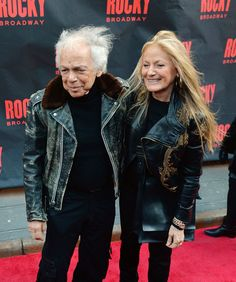 In This Photo: Ralph Lauren, Ricky Anne Loew-Beer Ralph Lauren and Ricky Anne Loew-Beer attend the 'Rocky' Broadway opening night at the Winter Garden Theatre on March 13, 2014 in New York City.