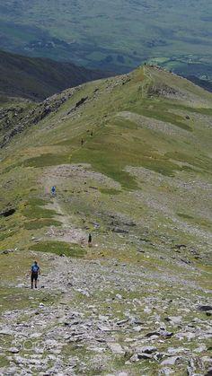 Mountain Running Carrauntoohil Ireland by PaulStack