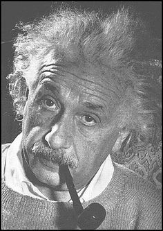 Einstein. Just another guy. Not.