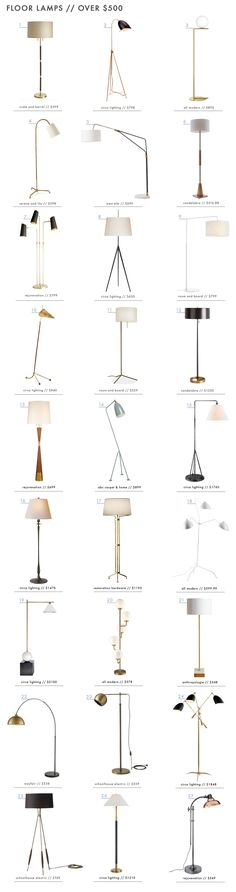 How to Light Your Space with 90 of our Favorite Floor Lamps