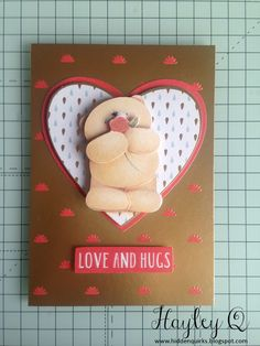 Hidden Quirks: Docrafts | Forever Friends Classic Decadence Collection Crafty Projects, Projects To Try, Forever Friends Cards, Gold Color Scheme, Love Hug, Wedding Anniversary Cards, Create And Craft, I Card, Card Making