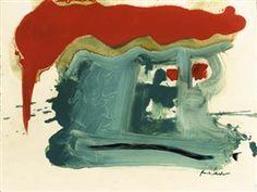 Helen Frankenthaler, Burnt Orange Roof