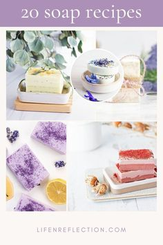 Scroll through these show stopping homemade soap recipes!