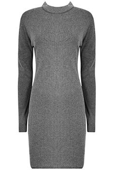 The Home of Fashion Womens Grey Turtle Neck Knitted Midi Jumper Dress Size 8 The Home of Fashion http://www.amazon.co.uk/dp/B00SJBQY34/ref=cm_sw_r_pi_dp_zaIYub18Y02QA