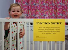 eviction notice funny baby - Dump A Day Funny Babies, Cute Babies, Baby Kids, 2nd Baby, Second Baby, Baby Boy, 19 Kids, Baby Pictures, Funny Pictures