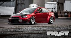 Wide, mean and packing a powerful punch, we check out Devan Shiels' tuned Mitsubishi Evo X...