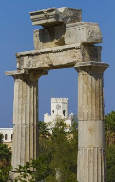 The History of Kos Island, Greece ~Via Emmelia Pagidas Greece Kos, Greece Islands, Places Ive Been, Places To Visit, Places In Greece, Holiday Places, Medieval Town, Archaeological Site, Ancient Greece