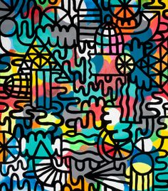 Mike Perry #art #print #pattern