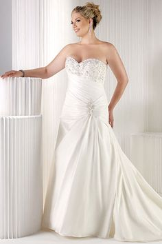 20 Beautiful Plus-Size Wedding Dresses