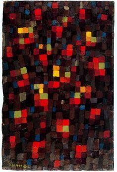 Like a Window Pane. 1924. Obra de Paul Klee