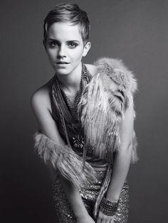 she rocks the short hair! #harrypotter