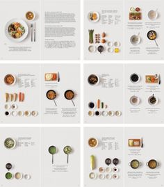 A simple, almost anthropological way to lay out a magazine spread. From Design Bureau Guide to the Foreign Japanese Kitchen » Design Bureau