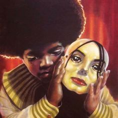 The broken boy behind the mask. RIP Michael Jackson