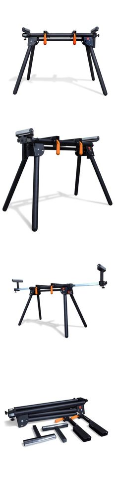 WEN 750 lb Capacity Miter Saw Stand Universal w// Adjustable Support Sliding Arms