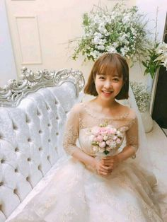 Strong Woman Do Bong Soon Wedding with Park Bo Young & Park Hyung Sik Strong Girls, Strong Women, Do Bong Soon Fashion, Strong Woman Do Bong Soon Wallpaper, Oh My Ghostess, Kdrama, Two Worlds, Young Park, Park Bo Young And Park Hyung Sik