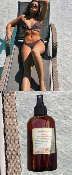 It was almost impossible to find a tanning product that is chemical- free, alcohol-free and is made in the USA!.. I have tanned for 3 days and my skin is looking nice, smooth and with a gorgeous brown tone. This is the only product that helps me with my dry and crinkled paper skin. I receive tons of compliments and I know they are real, because I can see how soft and velvety my skin feels, even my stretch marks are fading. I think it has a very pleasant soft herbal smell. I love this serum.