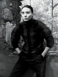 Rooney Mara by David Sims for the New York Times August 2013
