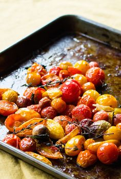Slow Roasted Tomatoe