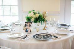Table Arrangement #thompsonhouseandgardens #flowersbyon