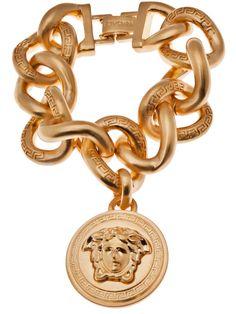 #Versace Charm Bracelet