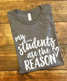My Students Are The Reason #teachergifts