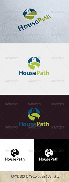 HousePath — Photoshop PSD #real estate #corporate • Available here → https://graphicriver.net/item/housepath/4582480?ref=pxcr