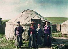 Inner Mongolia, China, July 1912, Stéphane Passet, public domain via Wikimedia Commons.