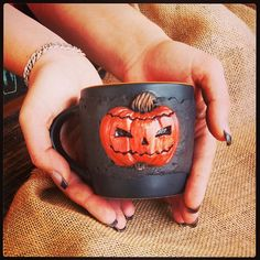 Halloween SALE  My new mug in Etsy Shop  http://ow.ly/VevD1  #artisanbot #bywilddrago #Halloween #gifts #DifferenceMakesAs Welcome to the magical world of unique gifts. Here you can see my work. And do you know where you can buy beautiful gifts from polymer clay for him, for her, for mum, for dad, for a friend to all. @WildDrago_CraftShop