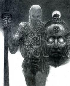 Dark Fantasy Art, Dark Art, Arte Horror, Horror Art, Art Macabre, Art Sinistre, Art Visionnaire, Art Noir, Arte Cyberpunk