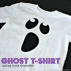 Ghost Shirt using Heat Transfer  :: That's What Che Said