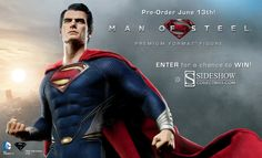 Sideshow: Sideshow Previews New MAN OF STEEL Collectible