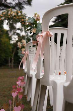 Mariage Pêche et Glitter - Dessine-moi une étoile (Design et Papeterie) Aude Rose (Fleurs)