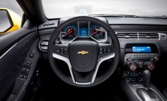 Chevrolet Camaro inside