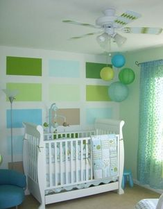 New Mint Green and Yellow Nursery