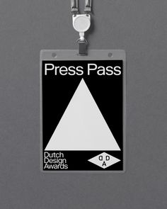 Dutch Design Awards by George & Harrison Identity Card Design, Branding Design, Branding Ideas, App Ui Design, Layout Design, Employees Card, Graphic Design Projects, Visual Communication, Design Awards