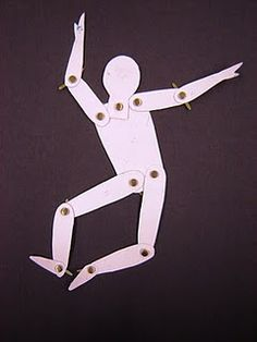 Articulated person template