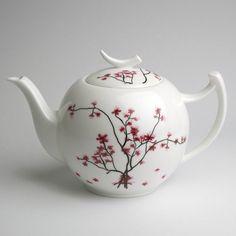 Teekanne-Cherry-Blossom-Kirschbluete-Bone-ChinaPorzellan